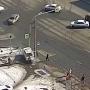 Среди раненых — ребёнок: в Челябинске легковушка вылетела на тротуар, сбив пешеходов