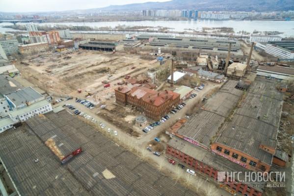 В первую очередь возведут два кирпичных 7-этажных дома