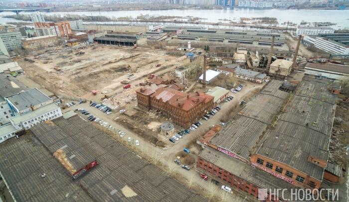 «Сибиряк» показал, как будут выглядеть первые дома на месте снесенного Комбайнового завода