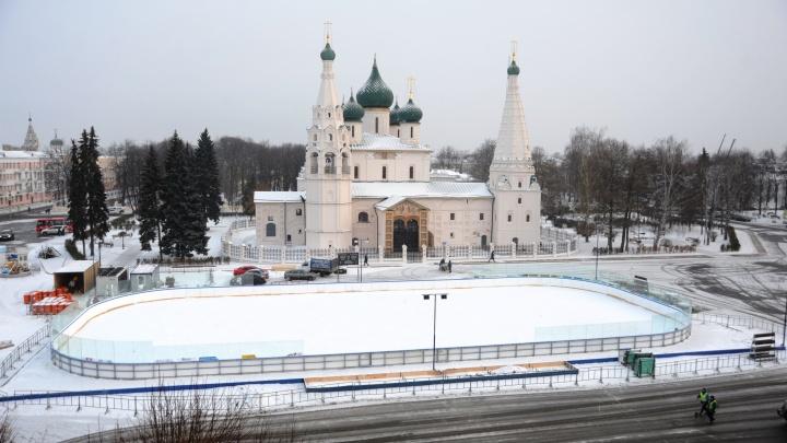 Каток на Советской площади откроется уже сегодня: что ждёт ярославцев