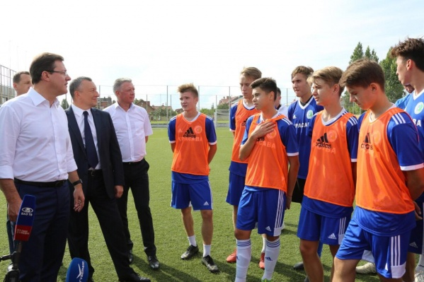 Юным футболистам пообещали лучшие условия для тренировок