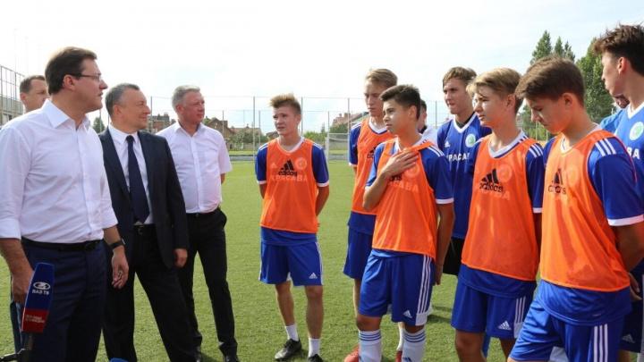 Футболистов спасёт металл: власти нашли, кто вложится в центр подготовки спортсменов в Тольятти