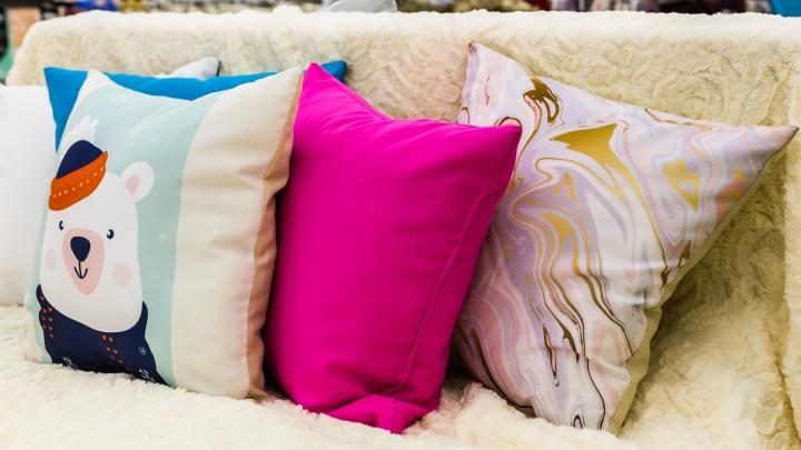 Влюбляешься с первого взгляда: милые подушки, пледы и полотенца, которые круче, чем у блогеров в инстаграме