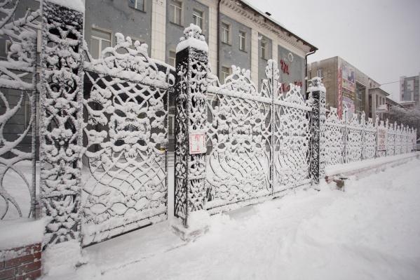 В праздничные дни новосибирцев ожидает мокрый снег и метель