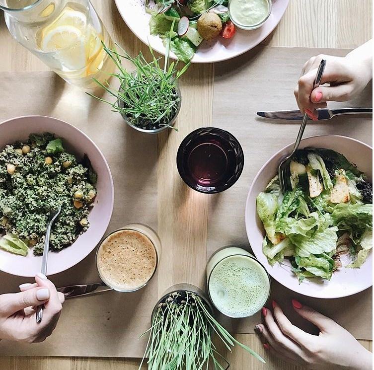 Челябинцы упорно пытаются развивать вегетарианский общепит