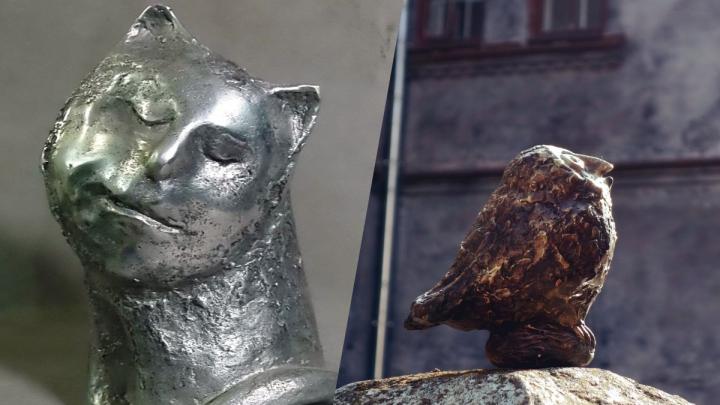 Железная сова и «Бумажный самолетик»: в Перми по эскизам горожан установят мини-скульптуры