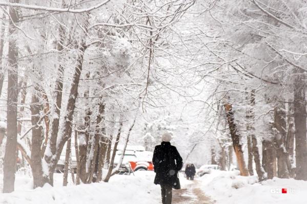 Морозная погода задержится в регионе до конца недели