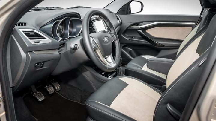 LADA Vesta выпустили в дорогой версии Exclusive