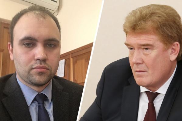 Ярослав Щербаков претендовал на должность главы администрации Челябинска, но её получил Владимир Елистратов<br>