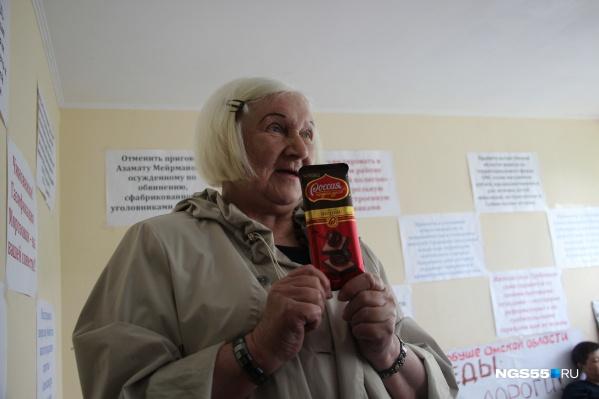 Лидия Каргаполова с нетерпением ждёт окончания голодовки