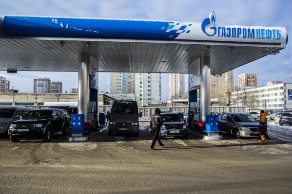 Всего в Новосибирской области работает 95 заправок «Газпромнефти»