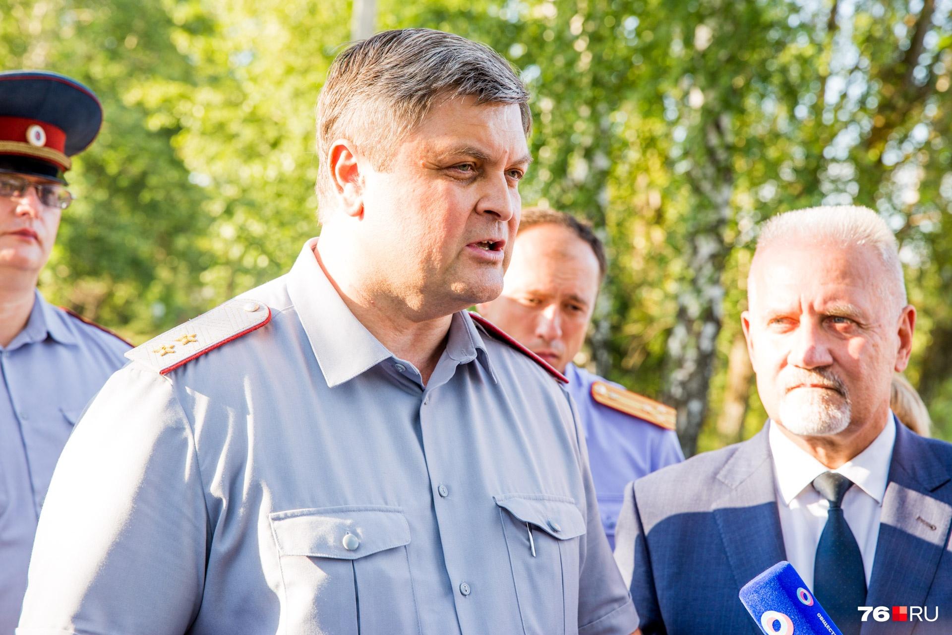 Заместитель директора ФСИН России Анатолий Рудый