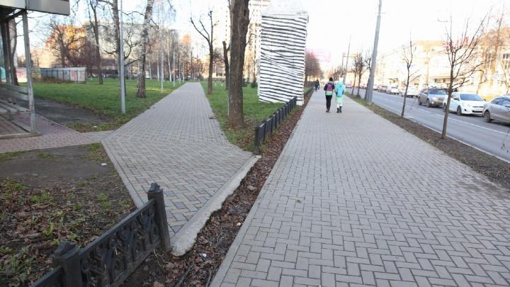 На отремонтированной улице Республиканской в Ярославле нашли «границу литосферных плит»