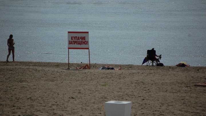 На берег Обского моря выбросило тело мужчины