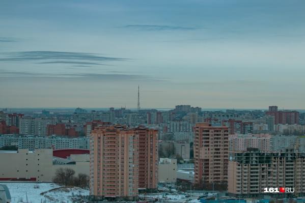 Левенцовка находится на окраине Западного