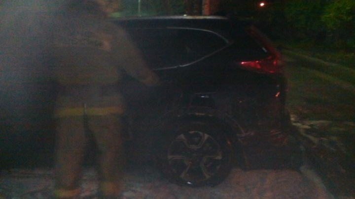 «Это никогда не закончится»: в Ярославской области ночью сгорела «Хонда»
