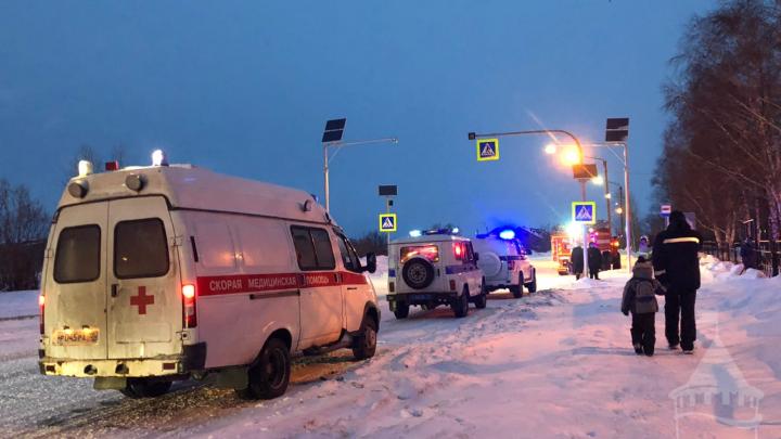 В Тобольске сообщили о минировании школы и больницы