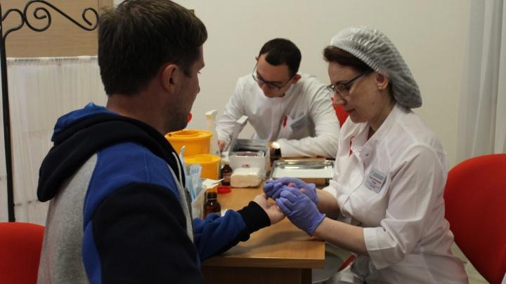 В Самарской области выявили менее 1500 новых ВИЧ-инфицированных