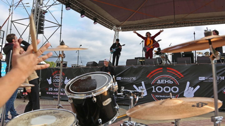 В Уфе бесплатно выступит рок-группа «Ногу свело!»