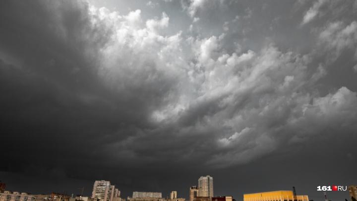 Град и ливень: 22 июля в Ростовской области ухудшится погода