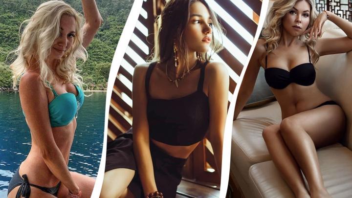 Лучшие девушки недели из Instagram Уфы: жара возвращается