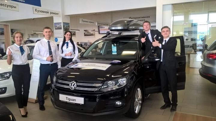 Екатеринбуржцам предложили воспользоваться горящими предложениями на автомобили Volkswagen