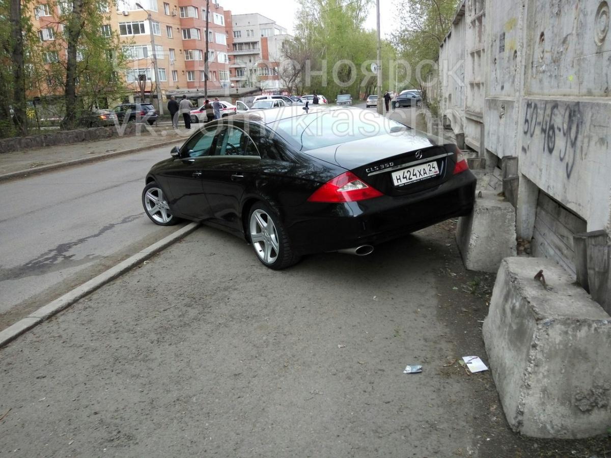 ВКрасноярске пойман неодин раз нетрезвый шофер, разбивший «Патруль-видео»
