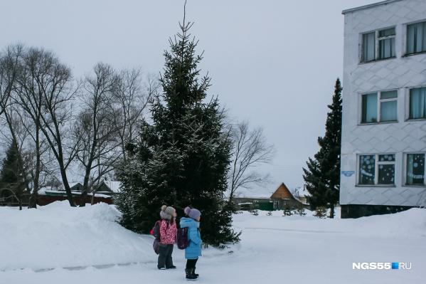 Дети спокойно гуляют по Нижней Омке без присмотра взрослых