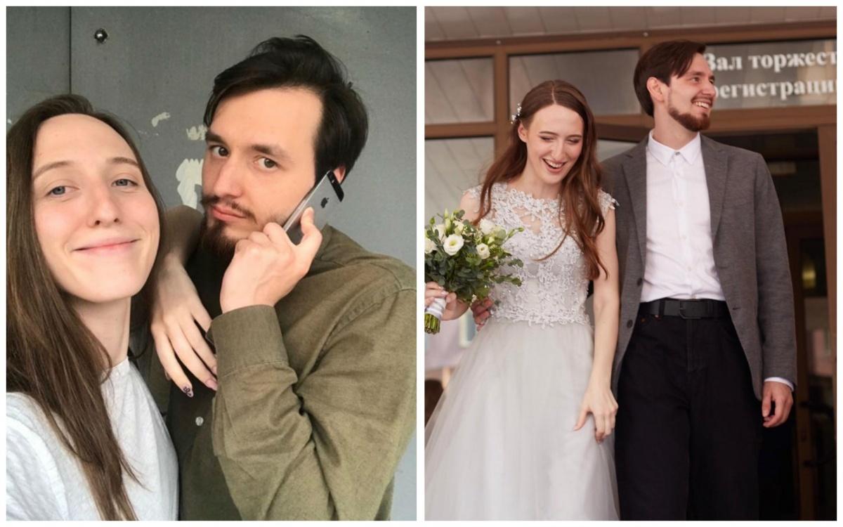 Екатеринбуржцы, которые преобразились в салоне перед свадьбой