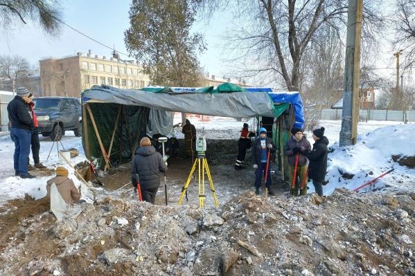 Находки археологов датируются началом XIX века