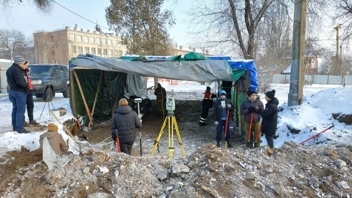 Около Фрунзенского моста опять проведут археологические раскопки