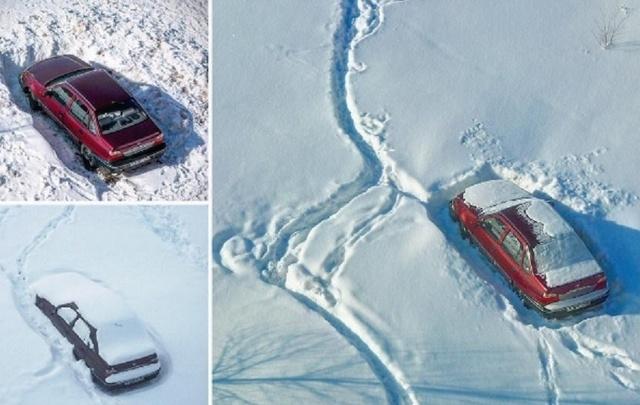 Хроники «Нексии»: уфимец три месяца ждал освобождения машины из снежного плена