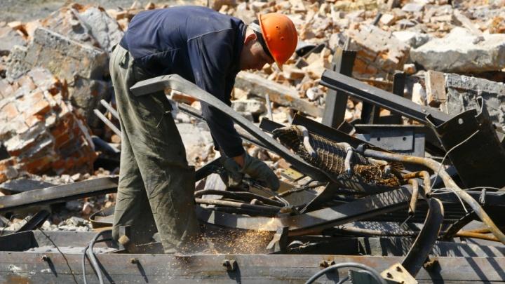 Курганца заставили отрабатывать похищенные полтонны металлолома