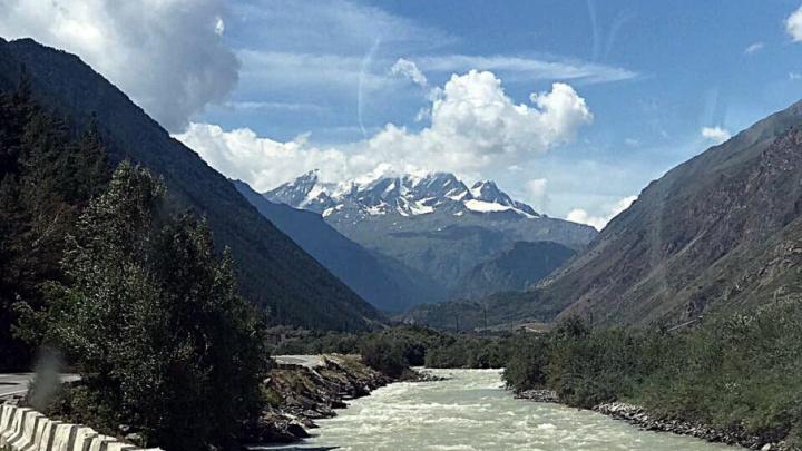 Начальник башкирской госавтоинспекции поделился впечатлениями от природы Кавказа