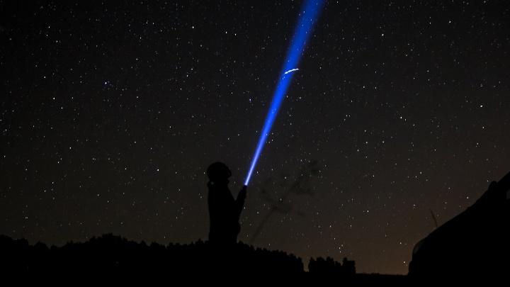 Волшебство Персеид: смотрим видео звездного дождя над Самарой