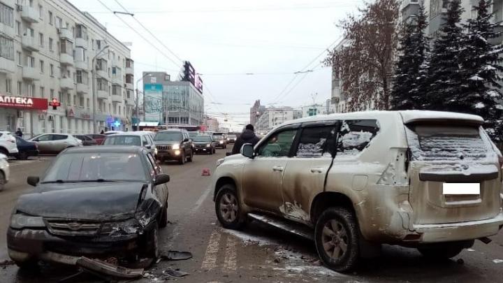 В ДТП в центре Уфы пострадал 4-летний ребенок