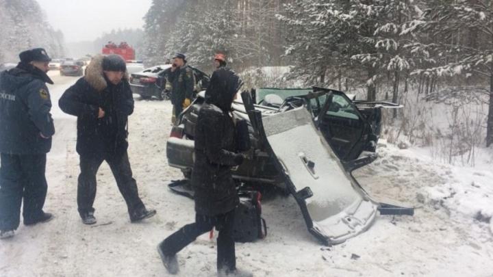 Полиция ищет очевидцев страшной аварии под Заречным, в которой погибли 4 человека