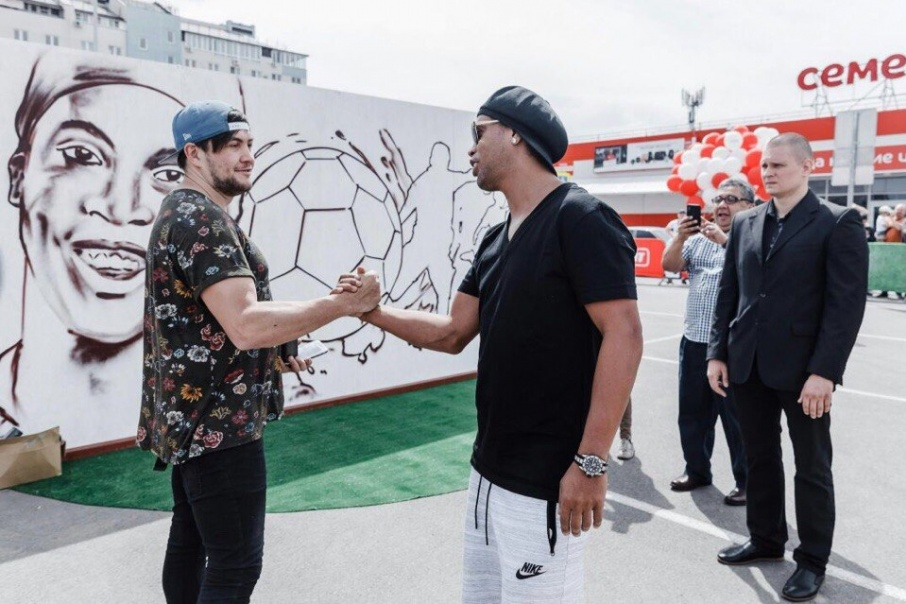 Челябинец проводил мастер-класс по граффити 18 мая в Краснодаре