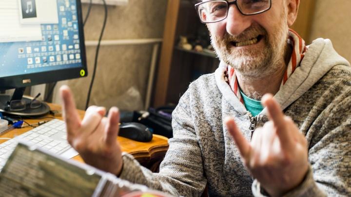 Аудио: известный новосибирский гитарист начал записывать альбом с музыкантом из Дании