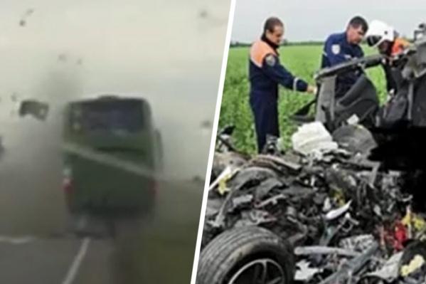 Водитель и пассажиры легковушки погибли до приезда скорой