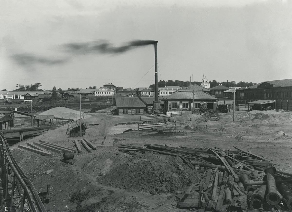 Вид Березовского завода
