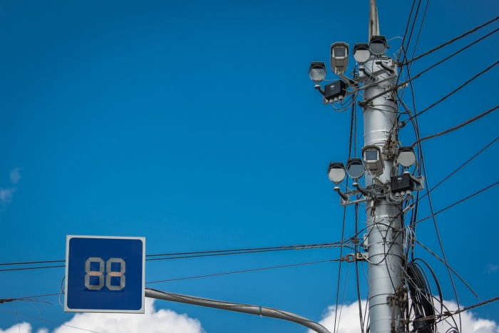 Камеры контролируют участок Советского шоссе от Краснообска до поселка Юный Ленинец
