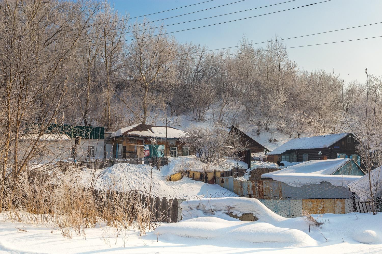 Микрорайон,один из самых старых в Новосибирске, за сотню лет почти не изменился