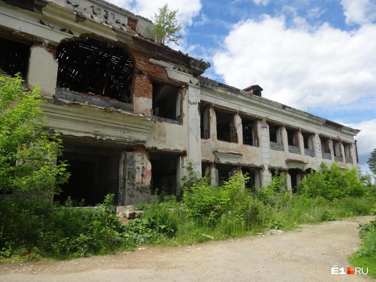 Руины старой школы