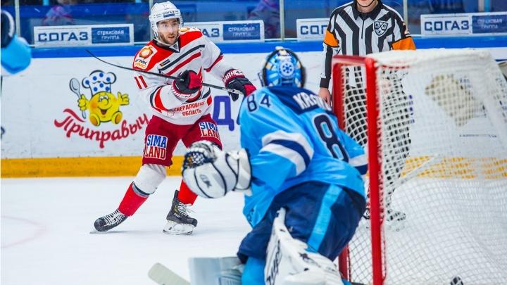 Прощай плей-офф: хоккейная«Сибирь» проиграла лидеру Восточной конференции