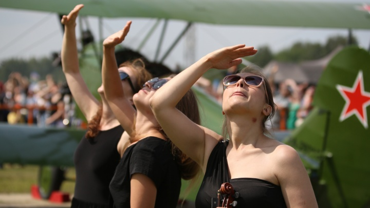 Небо, девушки, самолёты: онлайн-репортаж с авиашоу