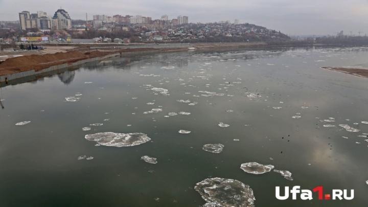 Реки в Башкирии замерзают на месяц позже