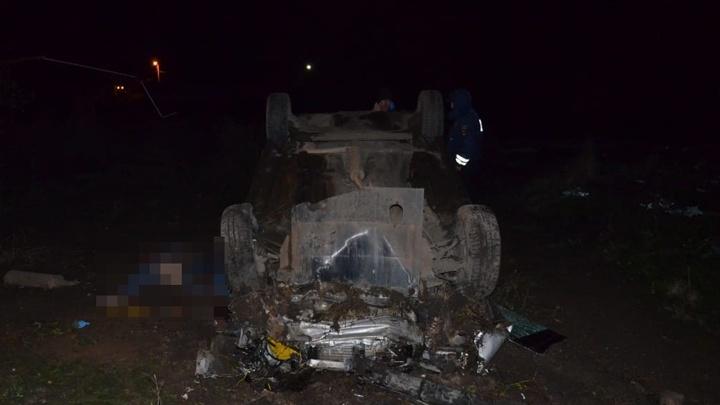 Водитель-лишенник на «Ладе-Приоре» устроил ДТП на трассе в Башкирии