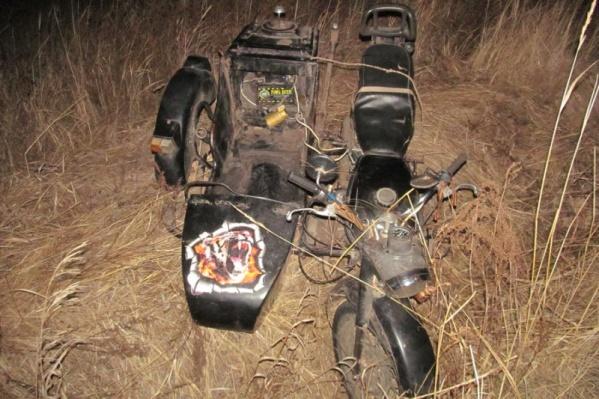 Подозреваемый преследовал животное на мотоцикле