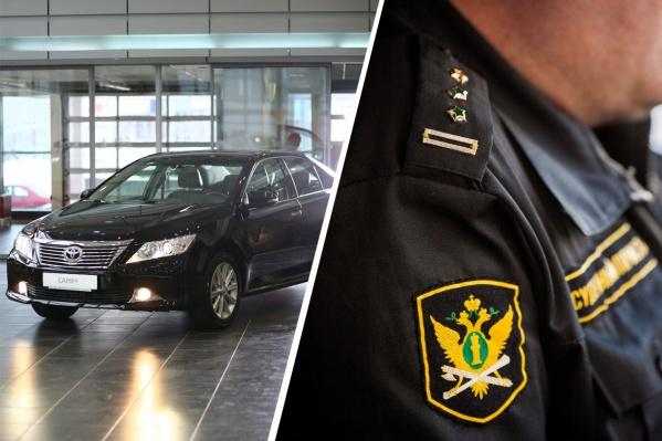 Сибиряк пытался продать машину на сайте Drom, но попался судебным приставам